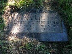Dorothea Marie <i>Ernst</i> Boldt