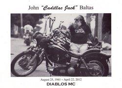 John J Jackie Baltas