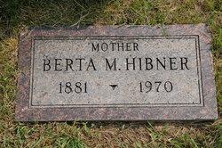 Berta M. <i>Mount</i> Hibner