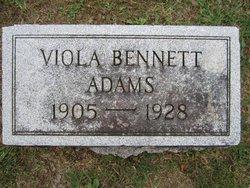 Viola Bennett Adams
