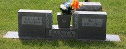 Walter F Banta