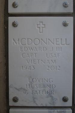 Edward J McDonnell, III