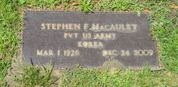 Stephen F. Macaulay
