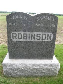Sarah J <i>Perry</i> Robinson