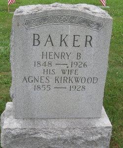 Agnes <i>Kirkwood</i> Baker