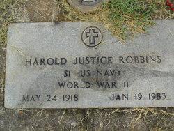 Harold Justice Robbins