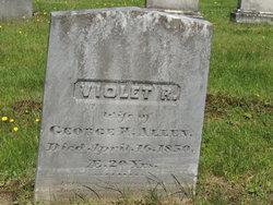 Violet R. <i>Anderson</i> Allen