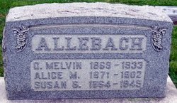 Alice M. <i>Cassel</i> Allebach
