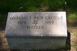 Margaret <i>Weir</i> Crosier