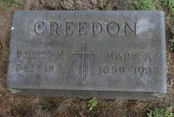 Dolly M Creedon