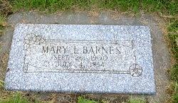 Mary I. <i>Clark</i> Barnes