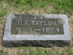 H. F. Taylor