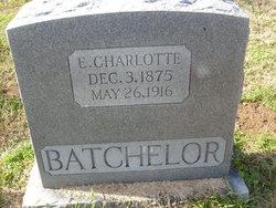 E Charlotte <i>Sharp</i> Batchelor