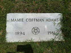 Mamie Rebecca <i>Surber</i> Adams