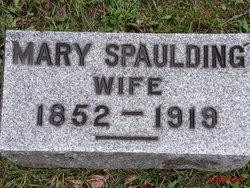 Mary <i>La Pointe</i> Spaulding