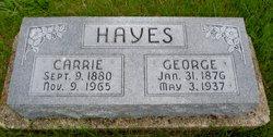 Carrie Ellen <i>Alderman</i> Hayes