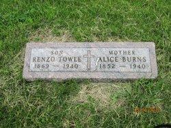 Alice Jane <i>Bendon</i> Burns