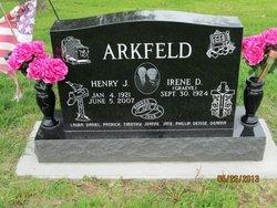 Henry Hank Arkfeld