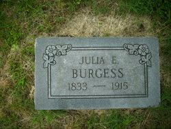 Julia E <i>Stone</i> Burgess
