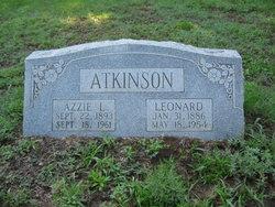 Azzie L. <i>Brooks</i> Atkinson