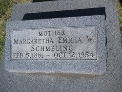 Margaretha Emilia W. <i>Dahlke</i> Schmeling