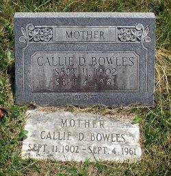 Callie D. Bowles