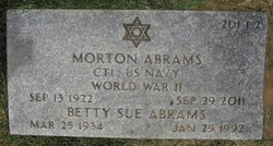 Betty Sue <i>Newman</i> Abrams