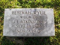 Rebekah <i>Wylie</i> Atkinson