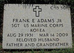 Sgt Frank E Adams, Jr