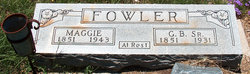 Margaret Maggie <i>Kimball</i> Fowler
