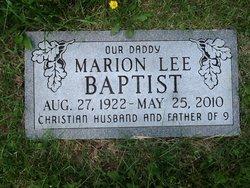 Marion Lee Baptist