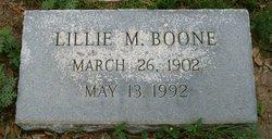 Lillie Mills Boone