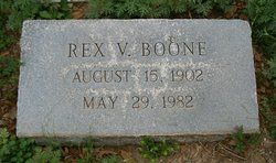 Rex V Boone, Sr.