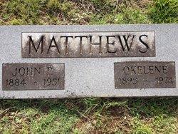 Desdie Okelene <i>Gibson</i> Matthews
