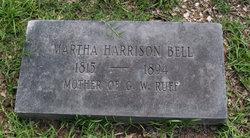 Martha <i>Harrison</i> Bell