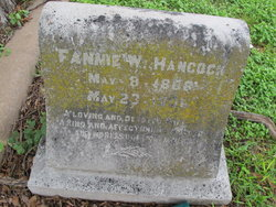 Frances Winston Fannie <i>Jones</i> Hancock