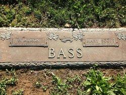 Mary <i>Scott</i> Bass