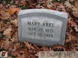 Mary <i>Kennedy</i> Abel