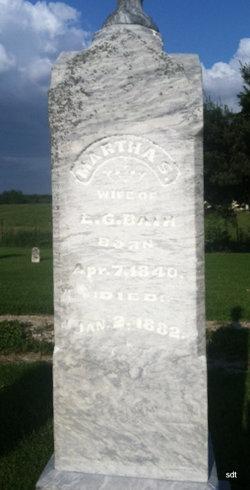 Martha S <i>Deatherage</i> Bair
