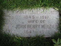 Mary Isabella <i>Scott</i> Menzies