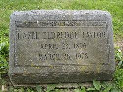 Hazel <i>Eldridge</i> Taylor