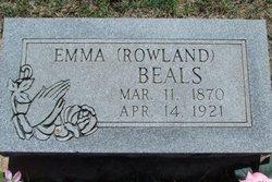 Emma Alice <i>Rowland</i> Beals