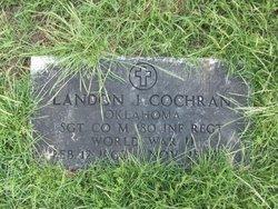 Sgt Landon J Cochran