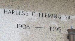 Harless Colton Fleming, Sr