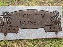 Jane Lucille <i>W</i> Barnett