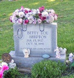 Betty Lou <i>McConnaughey</i> Shipton