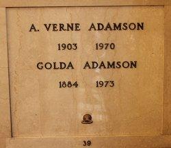Goldie Belle <i>Thomas</i> Adamson