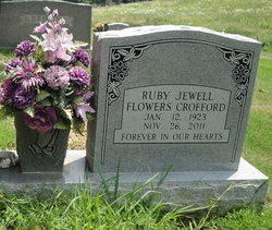 Ruby Jewell <i>Flowers</i> Crofford