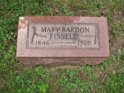 Mary <i>Bardon</i> Fissell