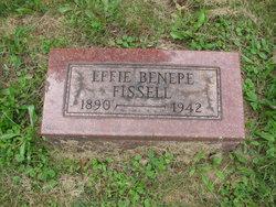 Effie <i>Benepe</i> Fissell